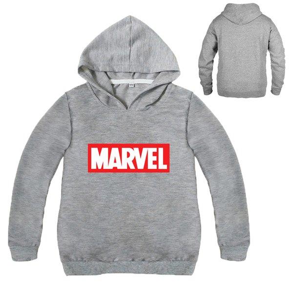 Acheter Tiny Cottons 2019 Automne Marvel Comics Hoodies Sweat Shirt Décontracté Pull Personnages Sweats Garçons Sweat À Capuche De $16.09 Du