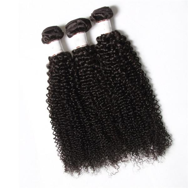 ¡50% de descuento! Irina que teje el cabello rizado brasileño afro rizado rizado 3pcs paquetes sin procesar jerry rizo humano virgen armadura del pelo bohemio