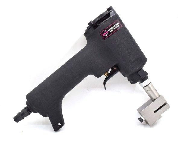 Herramientas neumáticas profesionales Herramientas neumáticas Herramienta de brida de punzón de aire Pistola de punzonado Máquina plegadora de metal 4.2mm 5 6mm Agujero para remache