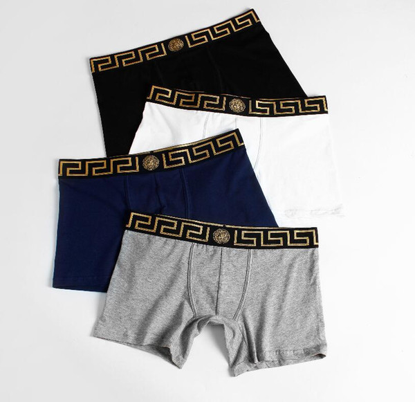 top popular Newest Mens Boxer Briefs Briefs Animal Print Fashion Designer Men's Boxer Underwears Brand Underpants for Men Underwear 2019