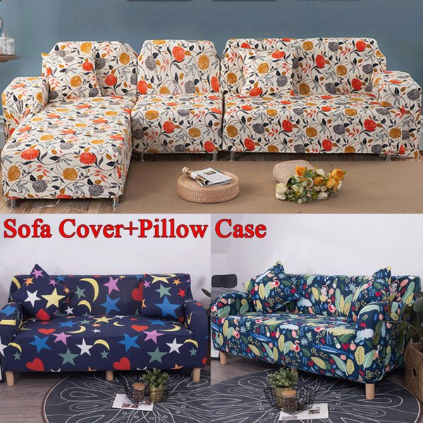 2019 Newest Hot Four Season Sofa Covers Stretch Sofa Slipcovers Washable Pet Protector Soft Couch Covers 1/2/3 Seater