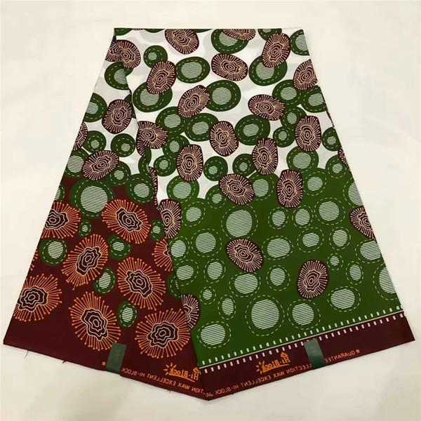 Son Java balmumu kumaş Afrika kumaş gerçek balmumu / baskılar sıcak satış Ankara pamuk 6 yards XM051766
