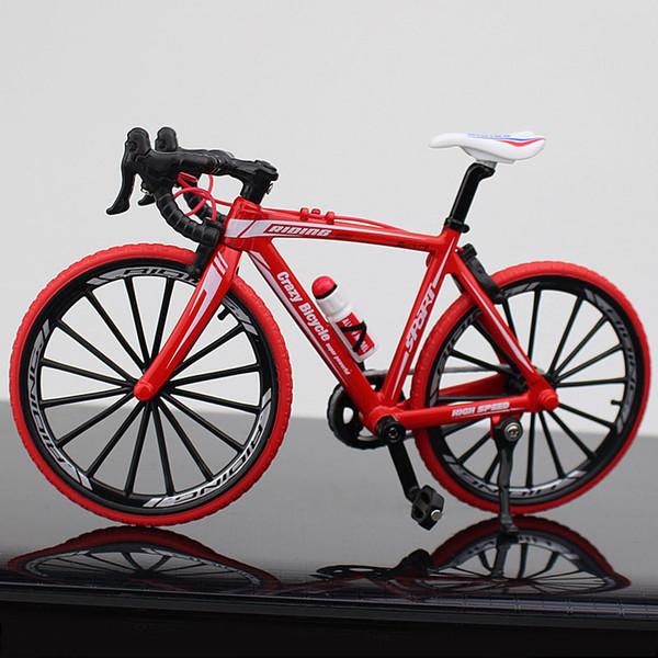 Mango doblado Bicicleta roja