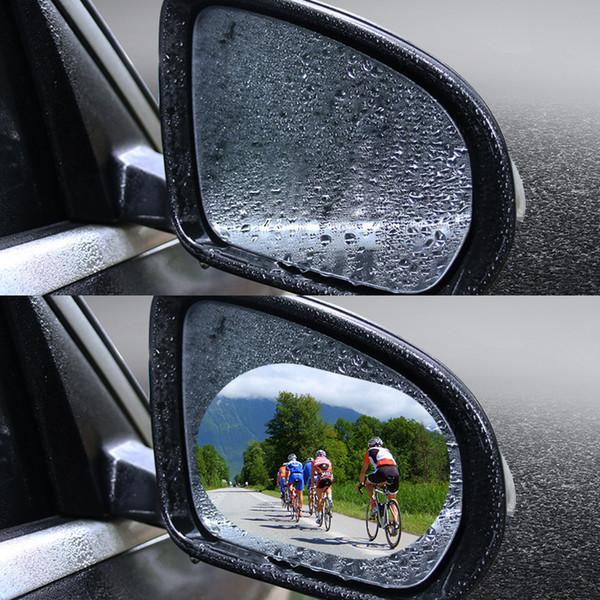 Espelho retrovisor espelho retrovisor à prova d 'água filme à prova de chuva filme espelho HD universal anti-fog filme de inundação
