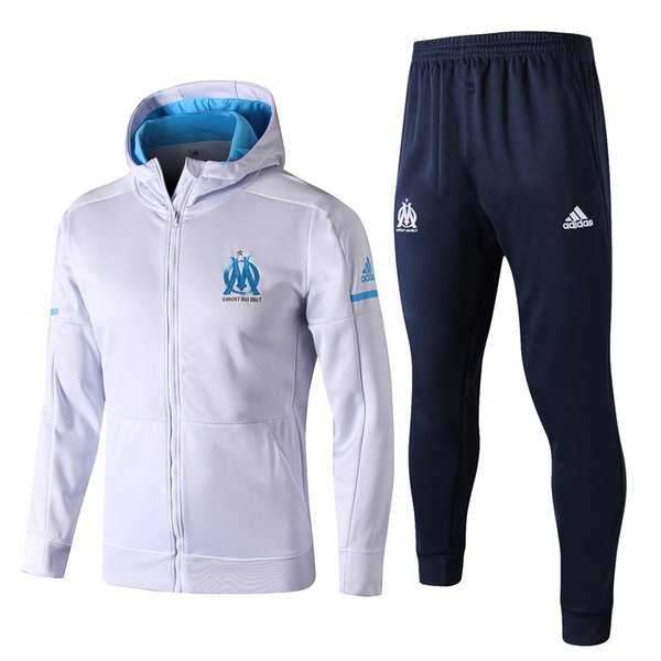 later lowest price beauty 2019 2019 OM Olympique De Marseille Survetement Children'S Adult Training  Sportswear Hoodie PAYET THAUVIN Training Suit Football 19/20 Sportswear  From ...