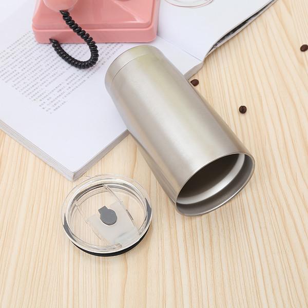 20 oz Tazas deportivas de metal boca ancha botella de agua de acero inoxidable vasos capacidad viajes tazas de café envío gratis TC190418