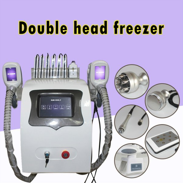 Cryoliposis slimming machine fat freezing vacuum therapy machine ultrasonic RF high perfomance diode lipo laser fat buring weight loss