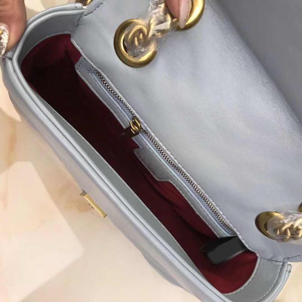 Designer-New Diamantgitter Klappe Tasche Frauen Kette Schulter Crossbody Taschen Designer Handtaschen Tote Geldbörse Luxus Designer Reisegepäck Tasche