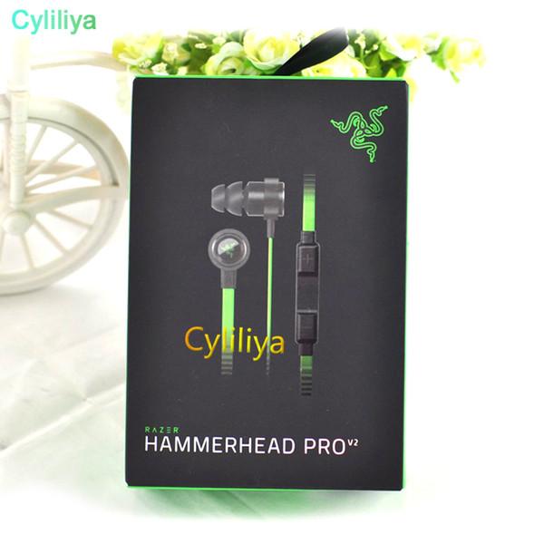 Razer Hammerhead Pro V2 Auriculares en el auricular con micrófono Con caja al por menor en el oído Auriculares para juegos Envío gratis
