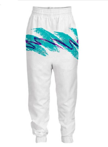 Uomo Donna anni '90 Jazz Solo Paper Cup Pants 3D Stampa Figura intera Tempo libero Pantaloni comodi Divertenti pantaloni sportivi Cool Style Plus Size RG069