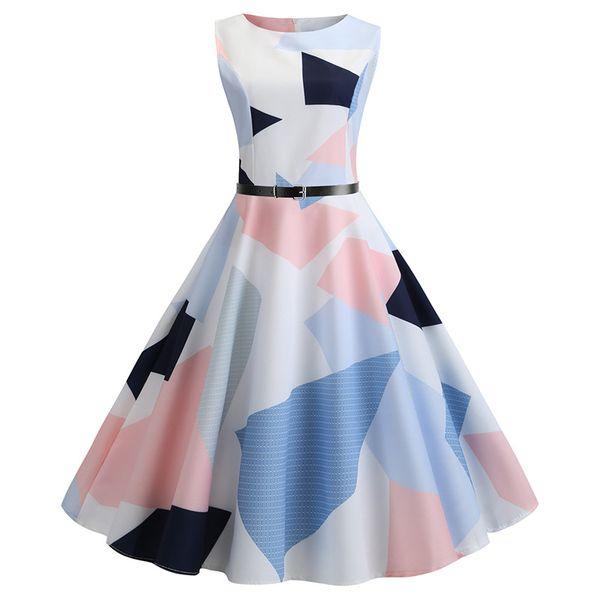 Famous Fashion Designers 2020.2019 2020 Famous Designer Design Fashion Hot New Women S Retro Sleeveless Summer Sexy Print Dress Shirt Dress Sundresses From Magic1996 22 12
