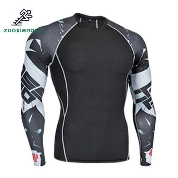 Zuoxiangru Fleece Thermal Underwear Running T-shirts Long Johns Tops Fitness Shirts For Jogging Cycling Yoga Sports Base