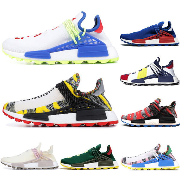 With Socks NMD Human Race Pharrell Williams SOLAR PACK BBC Sports Running Shoes discount Athletic mens Outdoor Training Sneaker Size 36-47