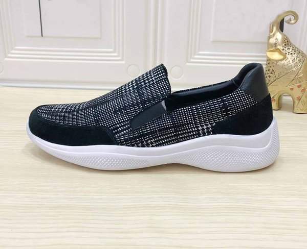 2018 Yeni Örgü Erkekler Rahat Ayakkabılar Lac-up Erkek Ayakkabı Hafif Rahat Nefes Yürüyüş Sneakers