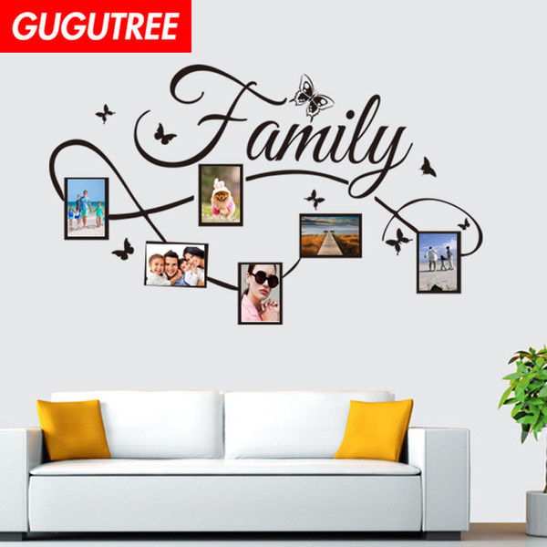 Decorate Home photo letter cartoon art wall sticker decoration Decals mural painting Removable Decor Wallpaper G-1597