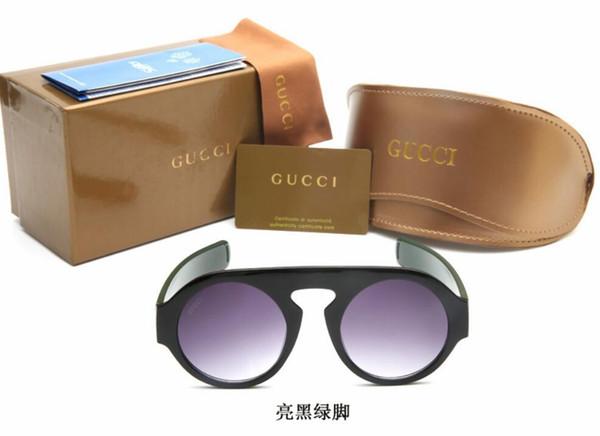 26e825185b19 0256 factory wholesale top quality 51mm half frame designer club sunglasses  Womens Mens master rlei di
