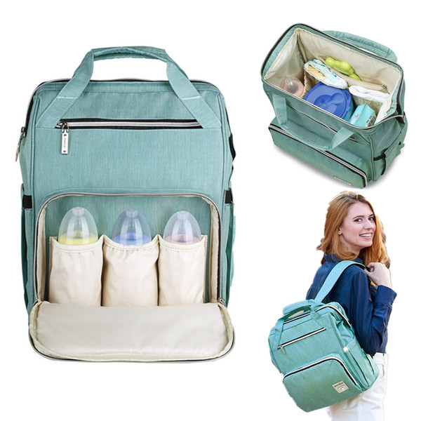 Diaper Bag Large Capacity Nappy Bag Waterproof Mom Maternity Travel Backpack Nursing Baby Care Stroller Handbag