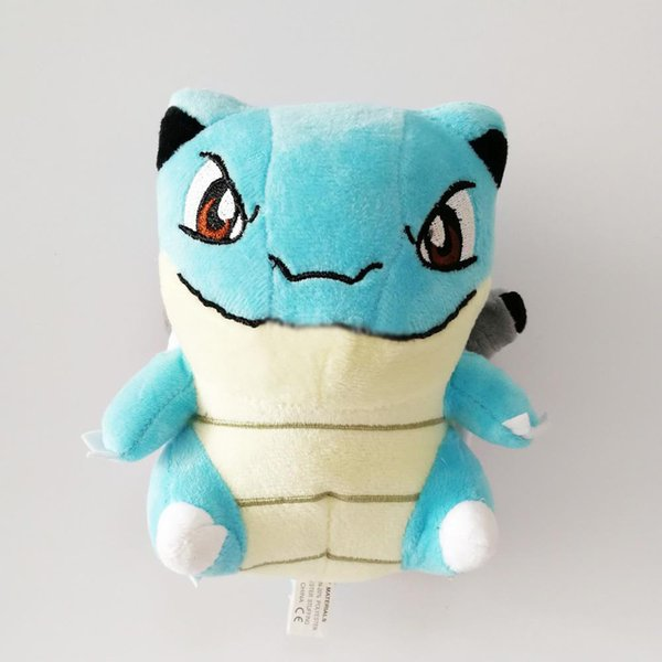 Hot Sale New 7inch 18cm Blastoise Pikachu Plush Stuffed Doll Toy For Kids Best Holiday Gifts