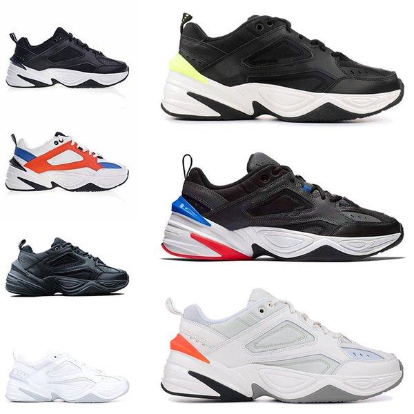 Venda Quente Sapatos de Grife Monarch O M2k Tekno Pai Mens Esporte Sapatos Fantasma Mulheres Sapatilhas Sapatos Formadores