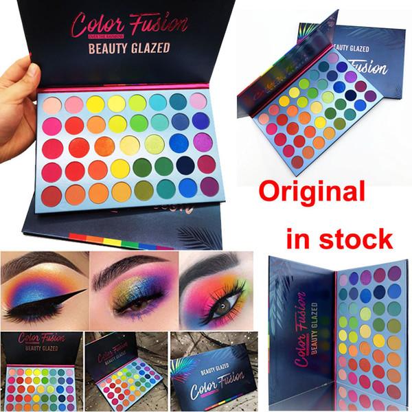 Brand beauty glazed eye hadow palette 39 color eye hadow color fu ion rainbow palette himmer matte hiny makeup eye hadow face co metic