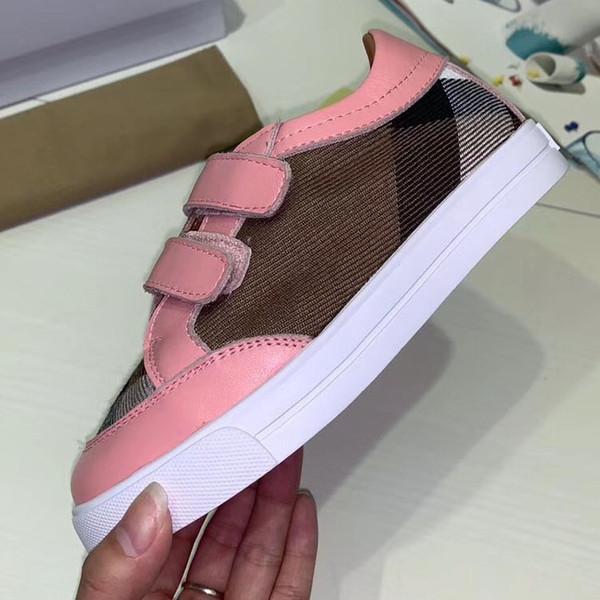 Con scatola Migliori scarpe per bambini Sneakers Scarpe casual Scarpe da ginnastica Scarpe moda per bambini Spedizione gratuita da bag07 BL1610
