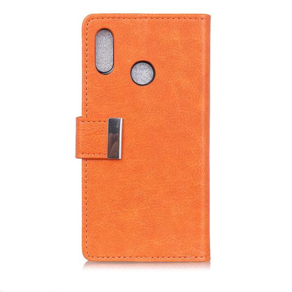 Hasp Pull Up Luxury Leather Cover Case For Vodafone Smart C9 N9 Lite N9 E8 V8 N8 X9 Case Wallet Flip Cover Bag