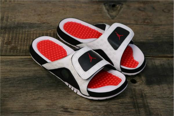 Aair 6 ÜRDÜN Moda 13 terlik sandalet Hidro XIII 13s Slaytlar siyah Retro erkek basketbol ayakkabıları rahat ayakkabılar açık ayakkabılar üzücü hgfh
