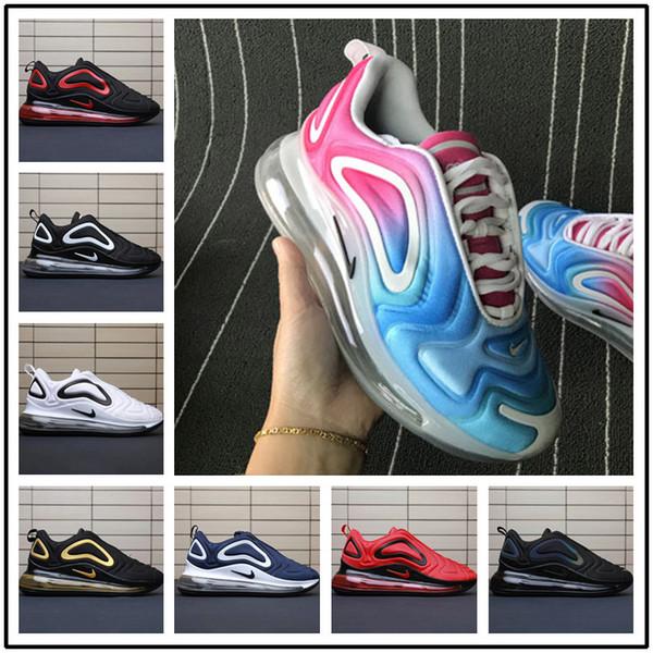 Designer men shoes Nike vapormax women [Com esporte assista] 2019 novos 72c calçados femininos modelos completos de néon das mulheres de carbono preto cinza Chaussures