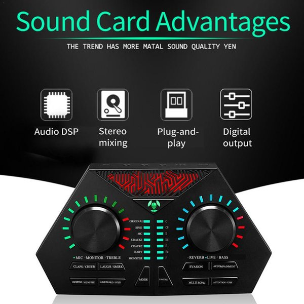 Vision Beauty Max-730 USB Audio Microphone Internet Entertainment Personal Streaming Live Sound Applicable To PC Phone