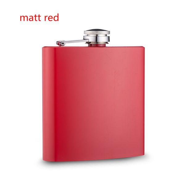 mat kırmızı