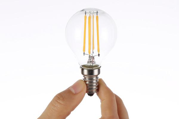 LED Light Bulbs G45 2W Dimmable 110V/220V LED BulbE14//E26/E27 Socket Soft White Globe Light Bulb 15 Watt Replacement