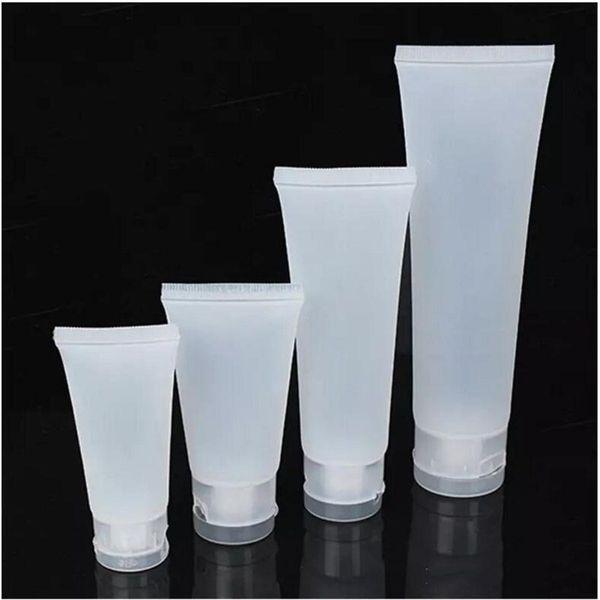 goodhopes / 15ml 20ml 30ml 50ml 100ml Milchflasche Wiederverwendbare Kunststoff Leere Kosmetische Weiche Tuben Container Schraube Flip Cap Lotion Shampoo Squeeze