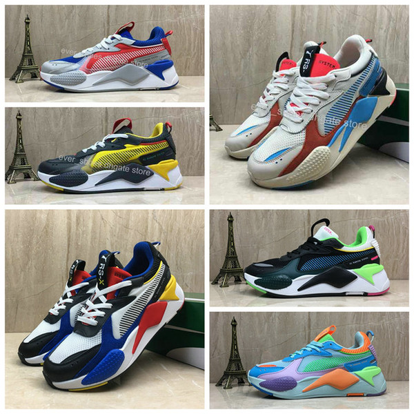 New Puma Creepers High Quality RS-X Toys Reinvention Shoes New Men Women Running Basketball Trainer Casual Sneakers Size 36-45