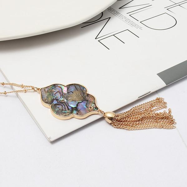 Ожерелье-Abalone