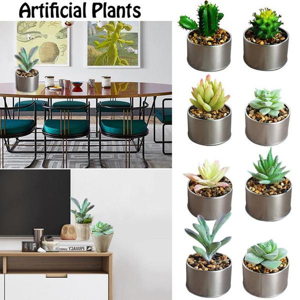 Artificial Plants Plastic Simulation Succulent Plants Bonsai Cactus Decoration Home Decoration Accessories