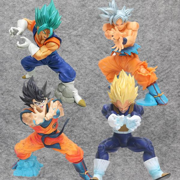 Dragon Ball Z Ultra Instinkt Son Goku Vegeta Super Saiyajin Gott SS Vegetto FINAL KAMEHAMEHA Final Flash Figuarts Action-Figur Spielzeug Y190529