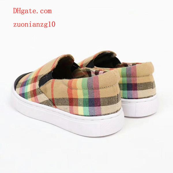 e8b51d8bd Zapatos para niños Nueva marca niñas niños zapatillas de deporte de moda  mocasines cómodos pisos alpargatas