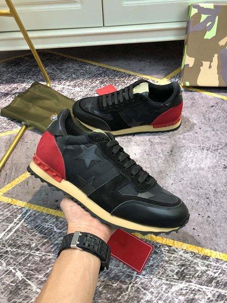 Women men Sneaker colour fashion Luxurys Designers Casual shoes for woman Platform Trainers Walking sneakers size 35-46