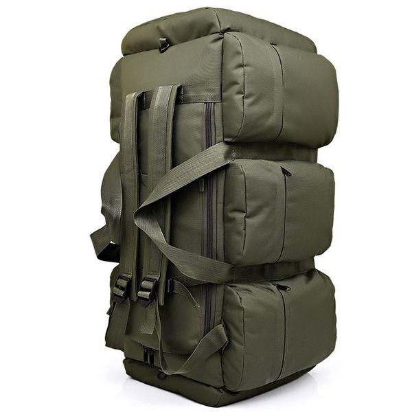 90l Large Capacity Men's Military Tactics Backpack Multifunction Waterproof Oxford Hike Camp Backpacks Wear-resisting Travel Bag Y19061102