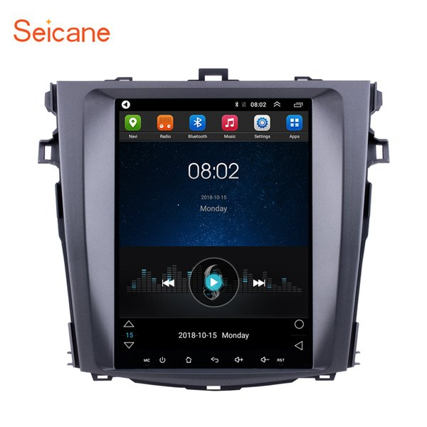 9.7 inch Android 6.0 Touch Screen GPS Navi Car autoradio for 2006-2012 Toyota Corolla with Mirror Link WIFI support 1080P Car dvd 3G OBD2