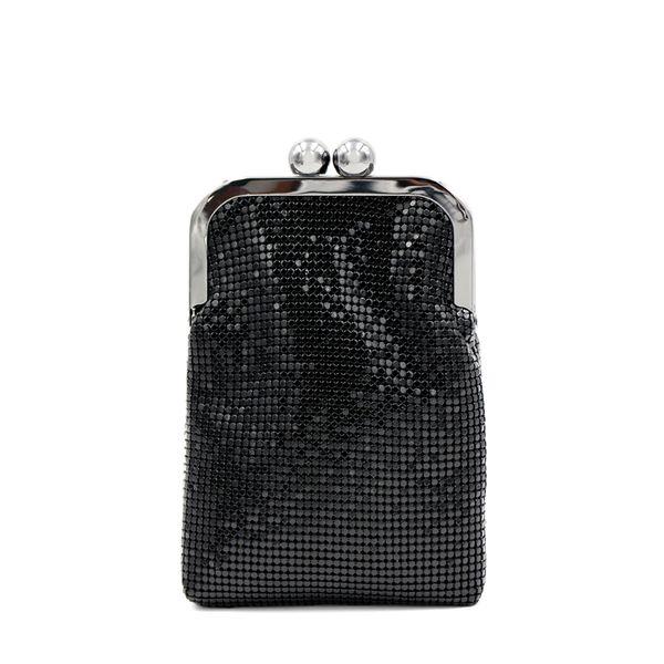 Womens Rhinestone Crystal Evening Clutch Bag Wedding Purse Bridal Prom Handbag Party Bag Gold Crossbody Phone Purse