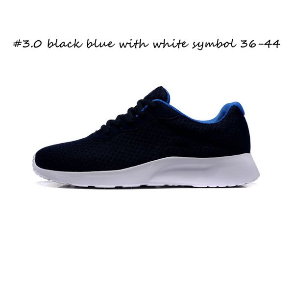 #3.0 black blue with white symbol 36-44