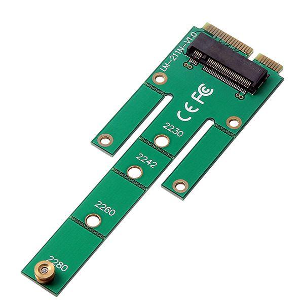 best selling M.2 B+M KEY NGFF To MSATA SSD SATA III PCB Board Converter