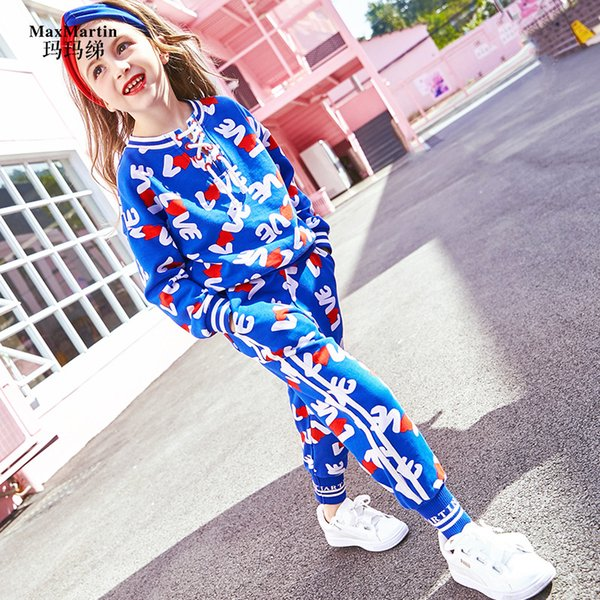 2019 Girl Set 2019 Spring Western Style Girls Clothing Sets Casual  Christmas Outfits Kids Girls Clothes Tracksuit Sport Suit From Breenca,  $61.36