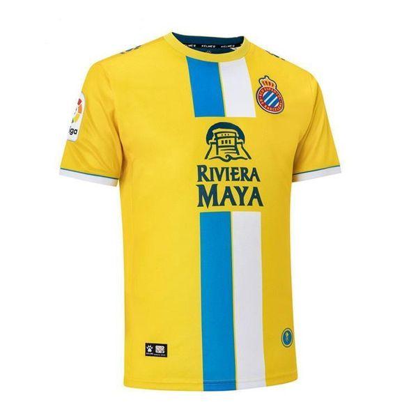 Soccer Jersey Casual Designer Jersey Spanish Liga RCD Espanyol Football Tops WU LEI HOME Away Version Soccer Sport Tshirt