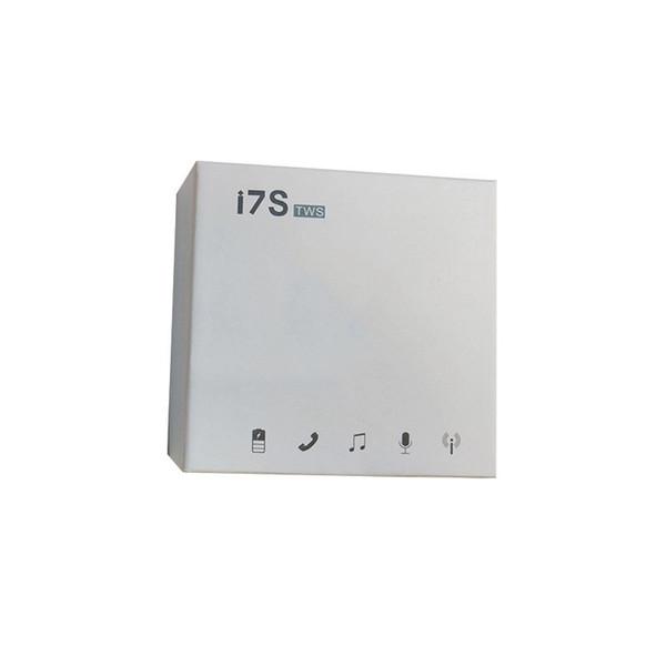 Double oreille Bluetooth écouteur sans fil TWS Twins Core i7 Core i7 sans fil intra-auriculaires avec Dock Chargeur V5.0 casque stéréo pour téléphone intelligent