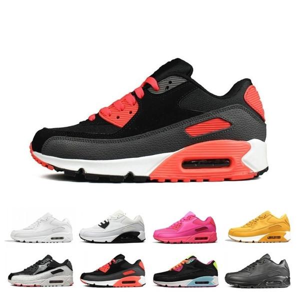 Réductions 90 90 Femmes Hommes Chaussures de course Triple Noir Blanc Rouge cny Oreo jogging en plein air formateur des hommes de sport espadrille