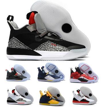 Black 33 33s Basketball Shoes Sneakers 2019 Mens Visible Utility Future Flight Guo Goes Ailun Tech Year Of PE Athletic Basket Ball Shoes