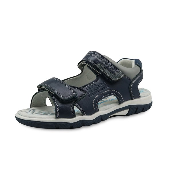 New Summer Boy Sandali Big Boy in vera pelle per bambini Hook Loop Shoes per ragazzi con Arch Support