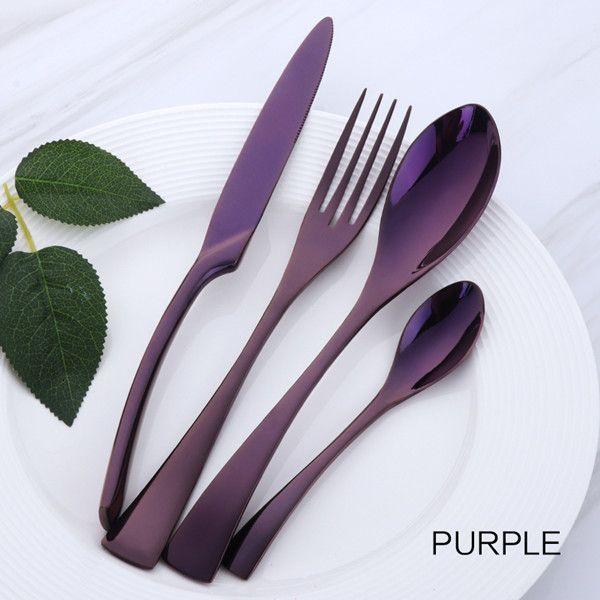 Purple 4 pcs